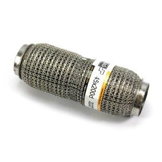 EAG Flexstück Flexrohr (45x200mm) Auspuffrohr - Interlock und Außen-Gestrick (dumbbell meshed)