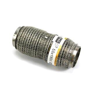 EAG Flexstück Flexrohr (55x180mm) Auspuffrohr - Interlock und Außen-Gestrick (dumbbell meshed)