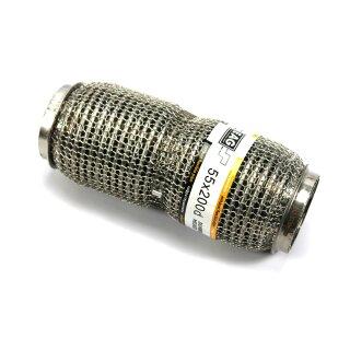 EAG Flexstück Flexrohr (55x200mm) Auspuffrohr - Interlock und Außen-Gestrick (dumbbell meshed)