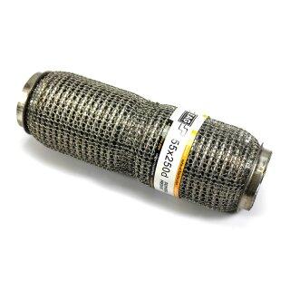 EAG Flexstück Flexrohr (55x250mm) Auspuffrohr - Interlock und Außen-Gestrick (dumbbell meshed)