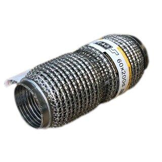 EAG Flexstück Flexrohr (60x200mm) Auspuffrohr - Interlock und Außen-Gestrick (dumbbell meshed)