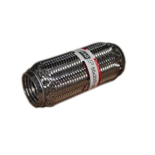 EAG Flexstück Flexrohr (55x200mm) Auspuffrohr - Interlock und Außen-Gewebe