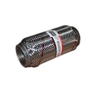 EAG Flexstück Flexrohr (60x200mm) Auspuffrohr - Interlock und Außen-Gewebe
