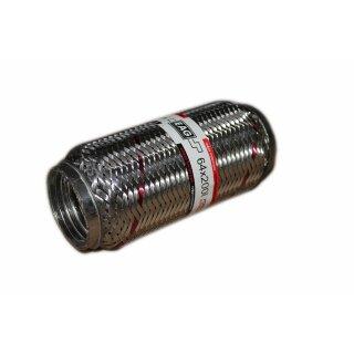 EAG Flexstück Flexrohr (64x200mm) Auspuffrohr - Interlock und Außen-Gewebe