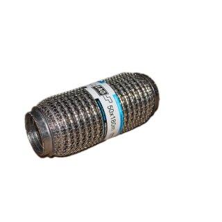 EAG Flexstück Flexrohr (50x180mm) Auspuffrohr - Interlock und Außen-Gestrick