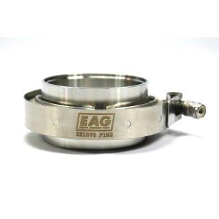 EAG Schelle V-Band 70mm/2,75 Zoll mit Flanschstutzen (Ohne Dichtung)
