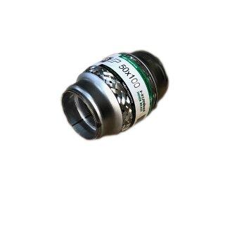 EAG Flexstück Flexrohr (50x100mm) Auspuffrohr - Innen- und Außen-Gewebe