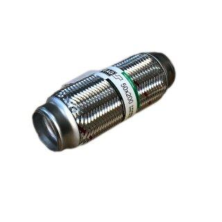 EAG Flexstück Flexrohr (50x200mm) Auspuffrohr - Innen- und Außen-Gewebe