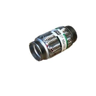 EAG Flexstück Flexrohr (55x150mm) Auspuffrohr - Innen- und Außen-Gewebe