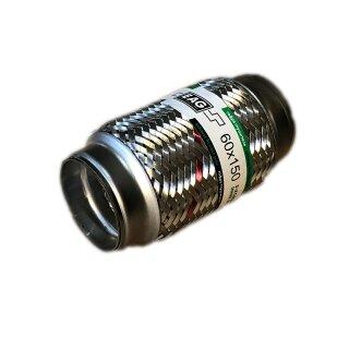 EAG Flexstück Flexrohr (60x150mm) Auspuffrohr - Innen- und Außen-Gewebe
