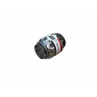 EAG Flexstück Flexrohr (50x100mm) Auspuffrohr - Interlock und Außen-Gewebe