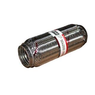 EAG Flexstück Flexrohr (50x200mm) Auspuffrohr - Interlock und Außen-Gewebe