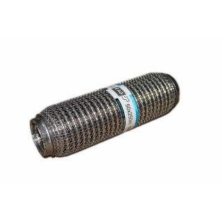 EAG Flexstück Flexrohr (50x250mm) Auspuffrohr - Meshed und Außen-Gestrick